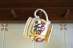 ceramiczny kubek Obraz Royalty Free