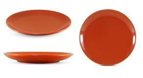 Ceramiczny naczynie odizolowywający na bielu fotografia royalty free