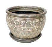 Ceramiczny ogrodowy garnek Fotografia Stock