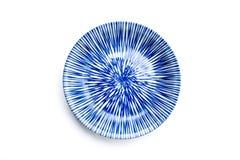 Ceramiczny pucharu japońskiego stylu rocznika wzór zdjęcia royalty free