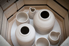 Ceramiczny robi kiln obrazy royalty free