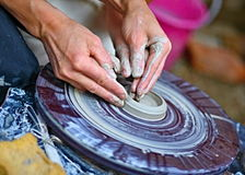 Ceramiczny rzemiosło Fotografia Royalty Free