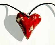 ceramiczny serce Obraz Stock