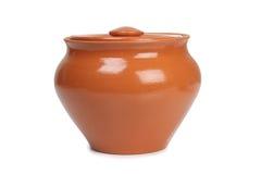 Ceramiczny stary garnek obraz stock