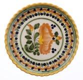 Ceramiczny talerz Zdjęcie Royalty Free