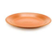 Ceramiczny talerz Obrazy Royalty Free