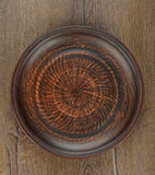 Ceramiczny talerz Obrazy Stock