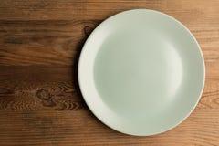 Ceramiczny talerz Obraz Stock