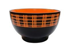 Ceramiczny talerz Fotografia Stock