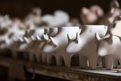 Ceramiczny Tao Hong Tai ceramiczna fabryka sławny przyciąganie fotografia royalty free