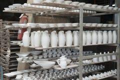 Ceramiczny warsztat w vietri Obrazy Stock