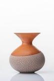 Ceramiczny wazowy pełen wdzięku kształt Obraz Royalty Free