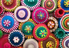 Ceramicznych naczyń odgórne pokrywy Obraz Stock
