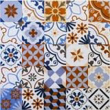 Ceramicznych płytek wzory zdjęcie royalty free