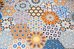 Ceramicznych płytek wzory obrazy stock