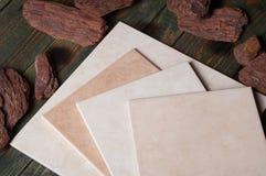 Ceramiektegel Royalty-vrije Stock Foto
