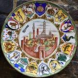 ceramika Siena obraz stock