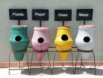 ceramika zbiorników ściółka zdjęcie royalty free