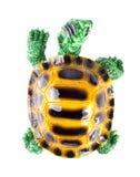 Ceramisch beeldje van schildpad stock fotografie