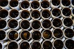 Ceramisch bruin glas Royalty-vrije Stock Fotografie