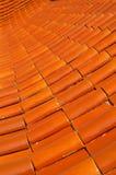 Ceramisch dak Royalty-vrije Stock Afbeelding