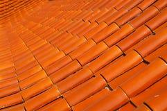 Ceramisch dak Stock Fotografie