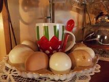 Ceramisch Eistilleven Stock Foto