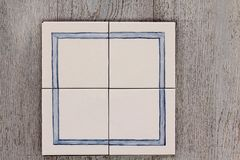 Ceramisch frame Stock Afbeeldingen