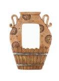 Ceramisch frame Stock Afbeelding