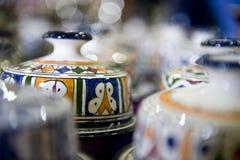 Ceramisch Handwerk Stock Foto's