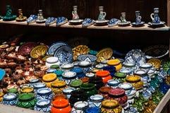 Ceramisch met de hand gemaakt aardewerk Royalty-vrije Stock Foto