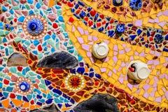 Ceramisch Mozaïek Royalty-vrije Stock Foto's