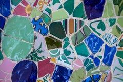 Ceramisch mozaïek Royalty-vrije Stock Afbeeldingen