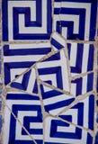 Ceramisch mozaïek Stock Foto