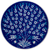Ceramisch Ornament Royalty-vrije Stock Afbeeldingen