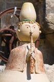 Ceramisch standbeeld. Royalty-vrije Stock Afbeeldingen