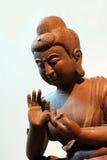 Ceramisch standbeeld van Boedha Stock Foto's