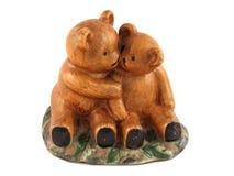 Ceramische beren Royalty-vrije Stock Foto