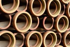 Ceramische buizen Royalty-vrije Stock Afbeeldingen