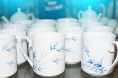 Ceramische ceramische producten van Chu Dau Royalty-vrije Stock Foto