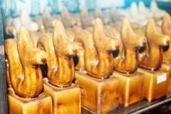 Ceramische ceramische producten van Chu Dau Stock Foto's