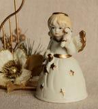 Ceramische Engel Royalty-vrije Stock Foto's