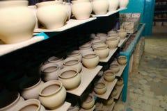 Ceramische fabriek Royalty-vrije Stock Afbeeldingen