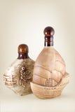 Ceramische fles Stock Fotografie