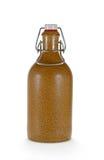 Ceramische fles met kurk Royalty-vrije Stock Afbeeldingen