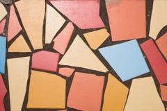 Ceramische gebroken tegel stock afbeeldingen