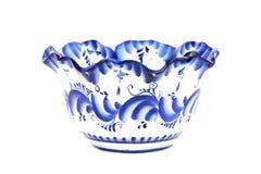 Ceramische Gzhel Stock Afbeelding