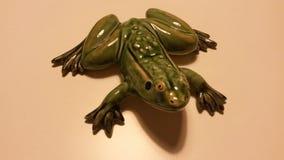 Ceramische kikker royalty-vrije stock foto