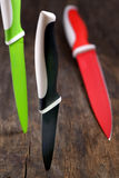 Ceramische knifes Stock Foto