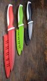 Ceramische knifes Royalty-vrije Stock Afbeeldingen